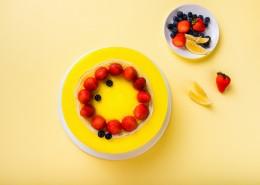 奶油草莓水果蛋糕图片(16张)
