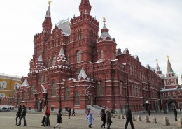 俄罗斯莫斯科红场建筑风景图片(9张)