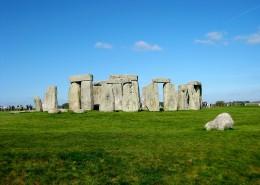 英国巨石阵图片(13张)