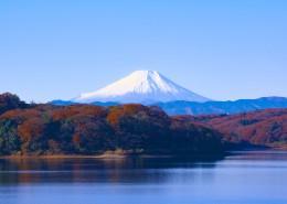 日本富士山图片(14张)