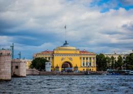 俄罗斯圣彼得堡建筑风景图片(10张)