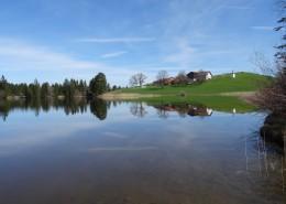 平静的湖面风景图片(13张)