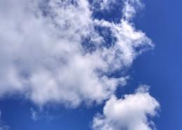 高空中洁白的云朵图片(12张)