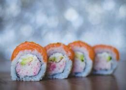 造型精美的寿司图片(9张)