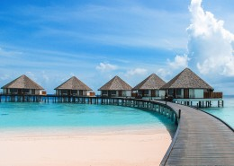 美丽的马尔代夫海边风景图片(10张)