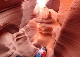 美国羚羊大峡谷风景图片(13张)