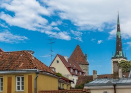 北欧爱沙尼亚首都塔林老城建筑风景图片(15张)