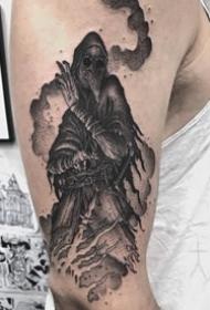 暗黑幽灵骑士纹身图案9张
