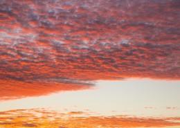 傍晚的彩云图片(11张)