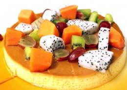 各种各样的水果蛋糕图片(11张)
