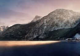 峻峭的山峦图片(10张)