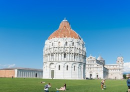 意大利比萨斜塔风景图片(10张)