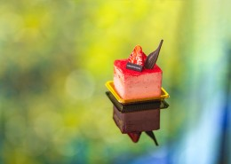 美味好吃的草莓蛋糕图片(8张)