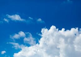 蓝天白云美丽风景图片(10张)