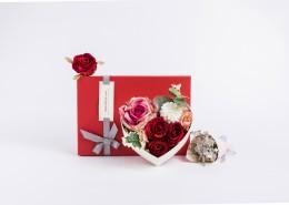 七夕情人节玫瑰花礼盒图片(12张)