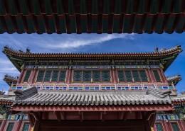 北京颐和园古建筑风景图片(9张)