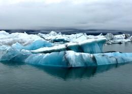 寒冷的冰川图片(16张)
