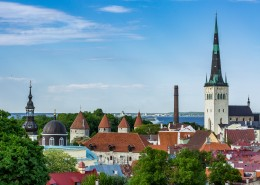 爱沙尼亚首都塔林风景图片(16张)