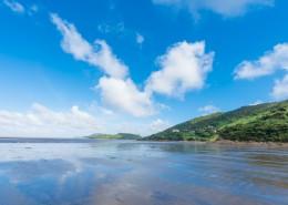 夏日海滨自然风景图片(9张)