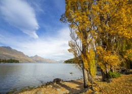 新西兰皇后镇秋季风景图片(10张)