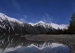 美丽的西藏然乌湖风景图片(13张)