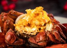 美味又蟹黄的大闸蟹图片(8张)