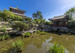 园博园的北京园人文风景图片(8张)