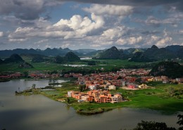 云南普者黑自然风景图片(10张)