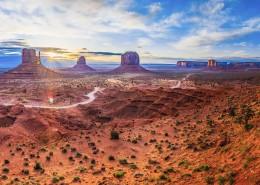 美国纪念碑山谷自然风景图片(9张)