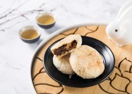 美味好吃的中秋节苏式月饼图片(9张)