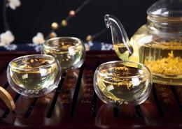好喝又营养的桂花茶图片(10张)