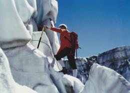 登雪山的人物图片(14张)