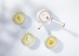 清香的桂花茶图片(12张)