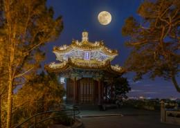 唯美的北京中秋节风景图片(8张)