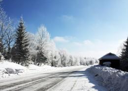 吉林长白山冬季雪景图片(9张)