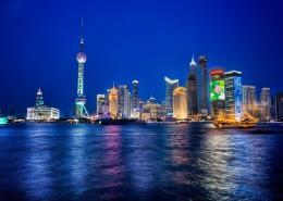 上海外滩城市风景图片(9张)