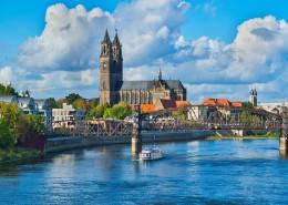 德国马格德堡城市风景图片(9张)
