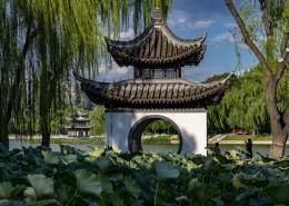 北京陶然亭公园风景图片(9张)