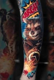 超逼真的色彩写实3d纹身作品图片