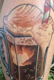 啤酒纹身图案   9组平顺甘醇的啤酒纹身图案