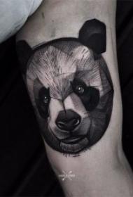 黑灰纹身风格  色调沉闷却尽显低调的黑灰色风格纹身图案