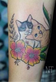 小猫咪纹身图案   趣味与可爱并行的小猫咪纹身图案