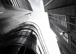 黑白建筑摄影图片(10张)