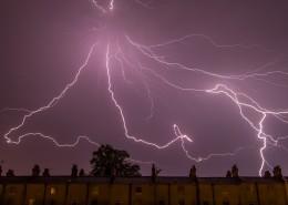 空中的闪电图片(11张)