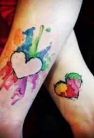 情侣纹身小图案 可爱且简单的10款情侣纹身小图案