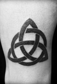纹身符号图案 多款不同造型的简笔画纹身符号图案