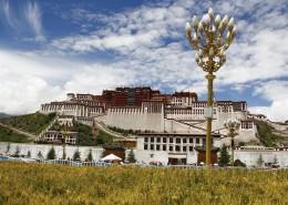 中国西藏拉萨布达拉宫风景图片(12张)