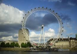 英国伦敦地标--伦敦眼图片(13张)