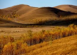 唯美内蒙古坝上草原秋季风景图片(9张)