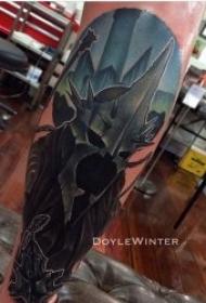 纹身电影图  霸气十足的影视人物纹身图案